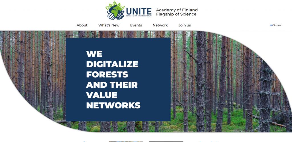 UNITE nettisivut - uudet kotisivut